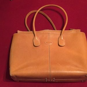 Tods vintage leather Tote